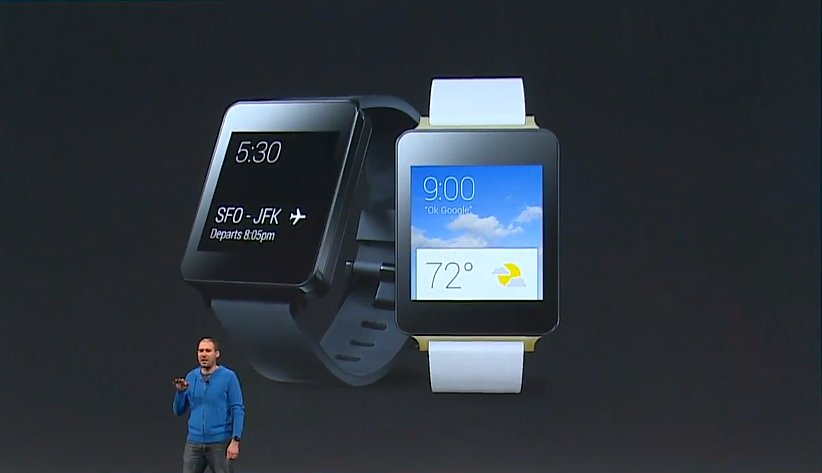 LG G Watch also available later today.