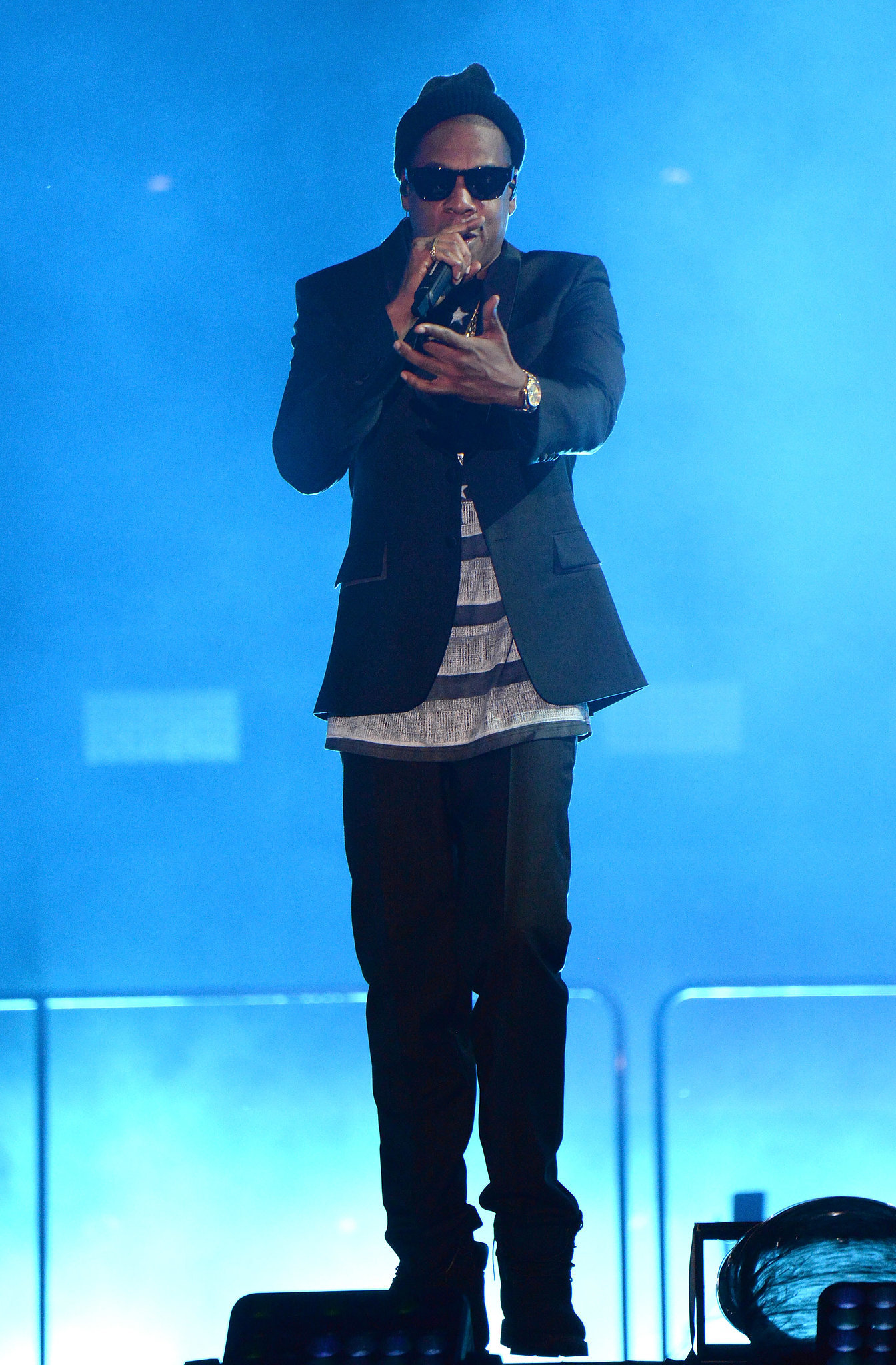 Jay Z in a Givenchy