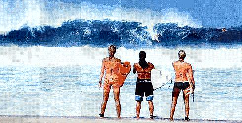 Tried to Surf Like in Blue Crush