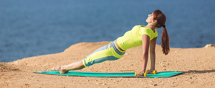 A Beach Workout to Tone All Your Bikini-Baring Zones