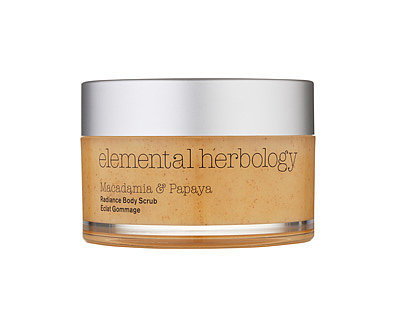Elemental Herbology Macadamia and Papaya Body Scrub