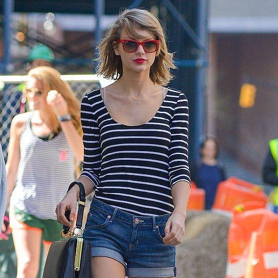 Celebrities Wearing Stripes