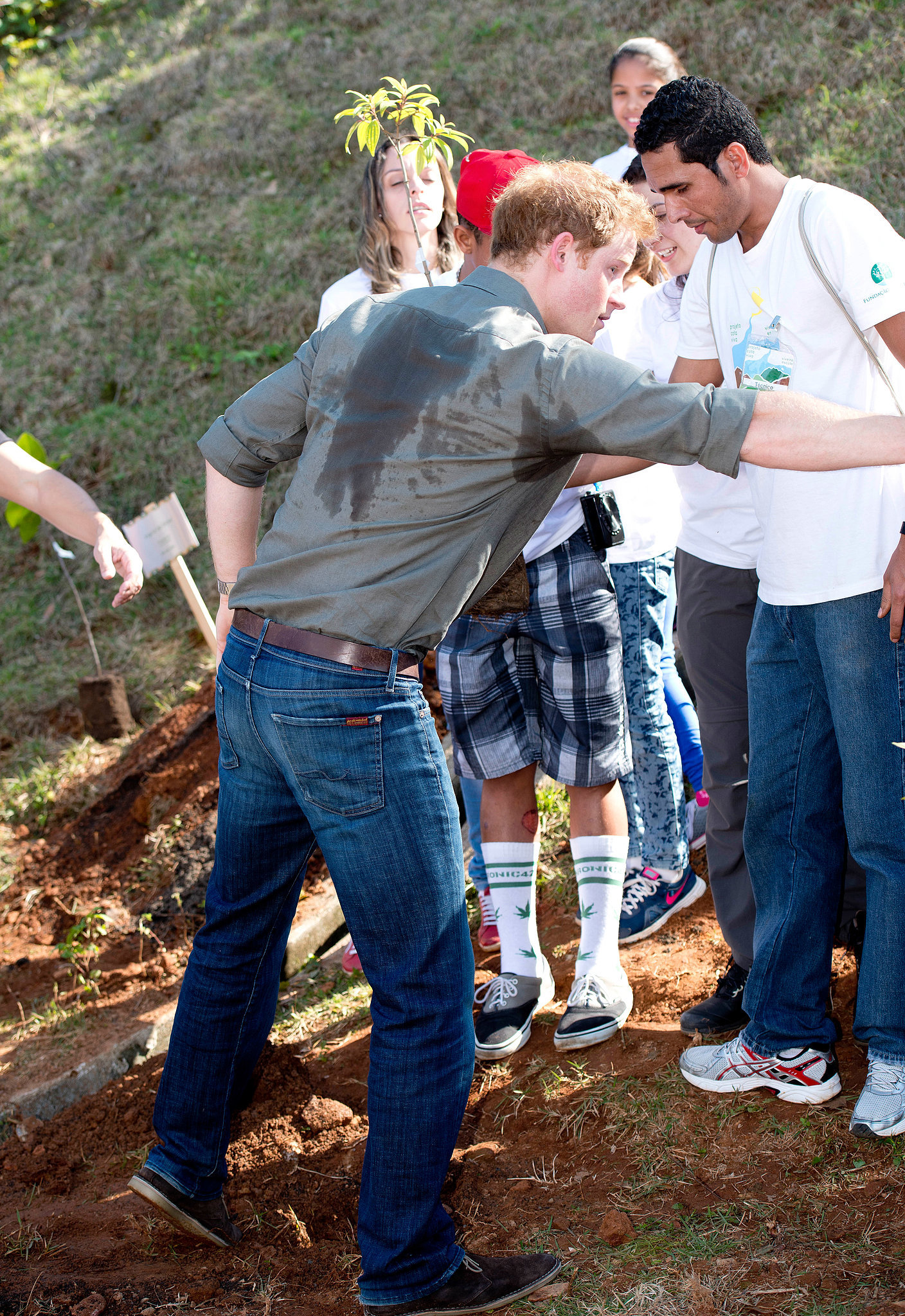 When He Was Forced to Do Manual Labor