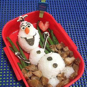 Frozen Movie Food Art