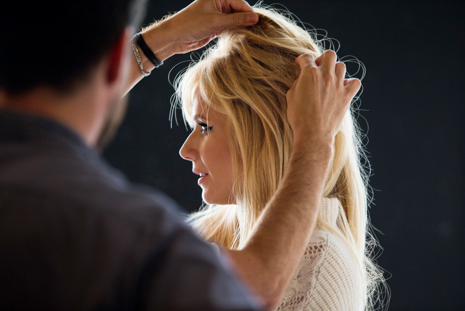 Gwyneth Paltrow Behind the Scenes For Max Factor