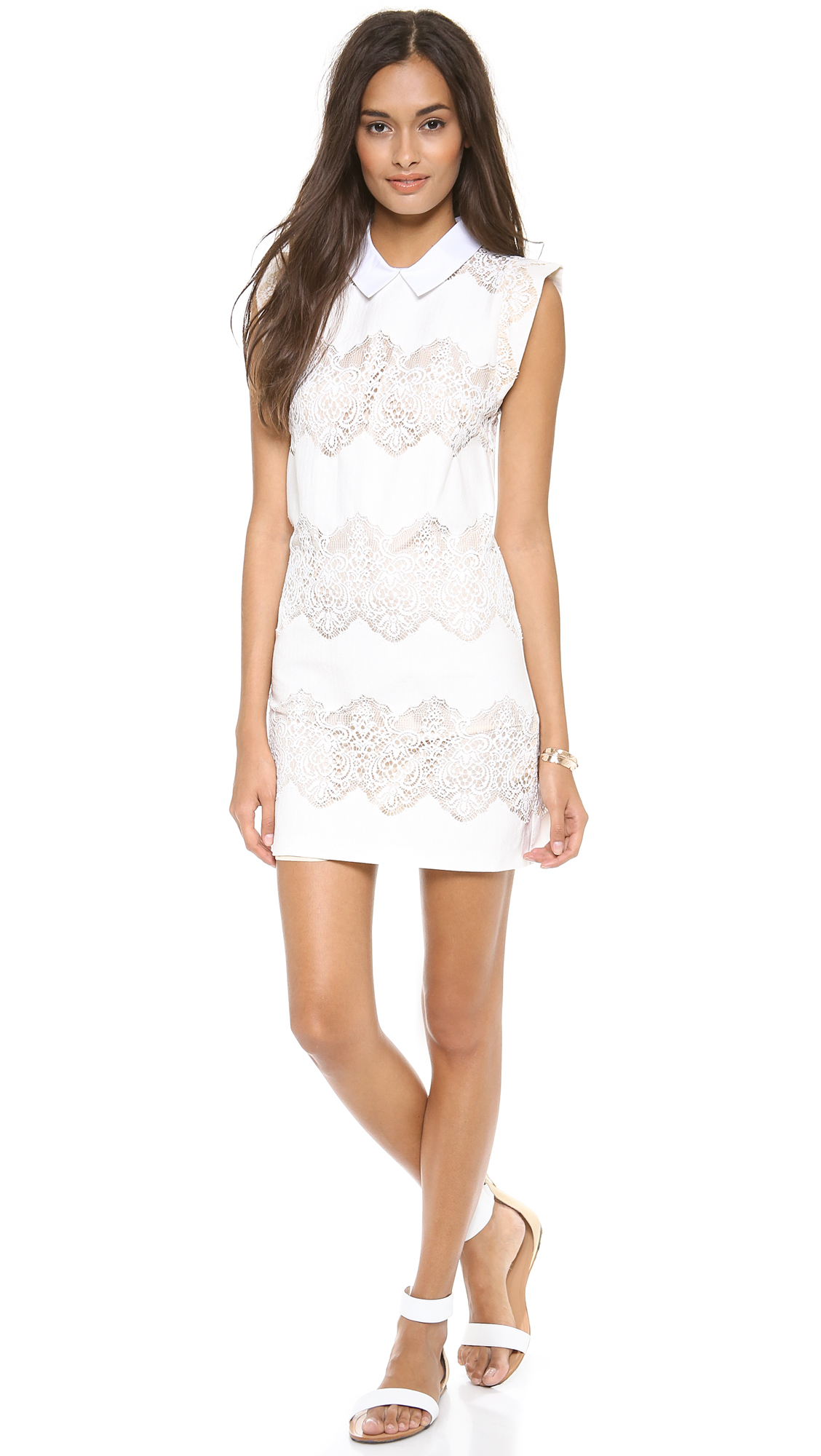Lover White Lace Dress