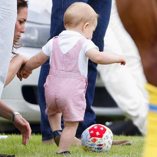 Prince George Playing Soccer