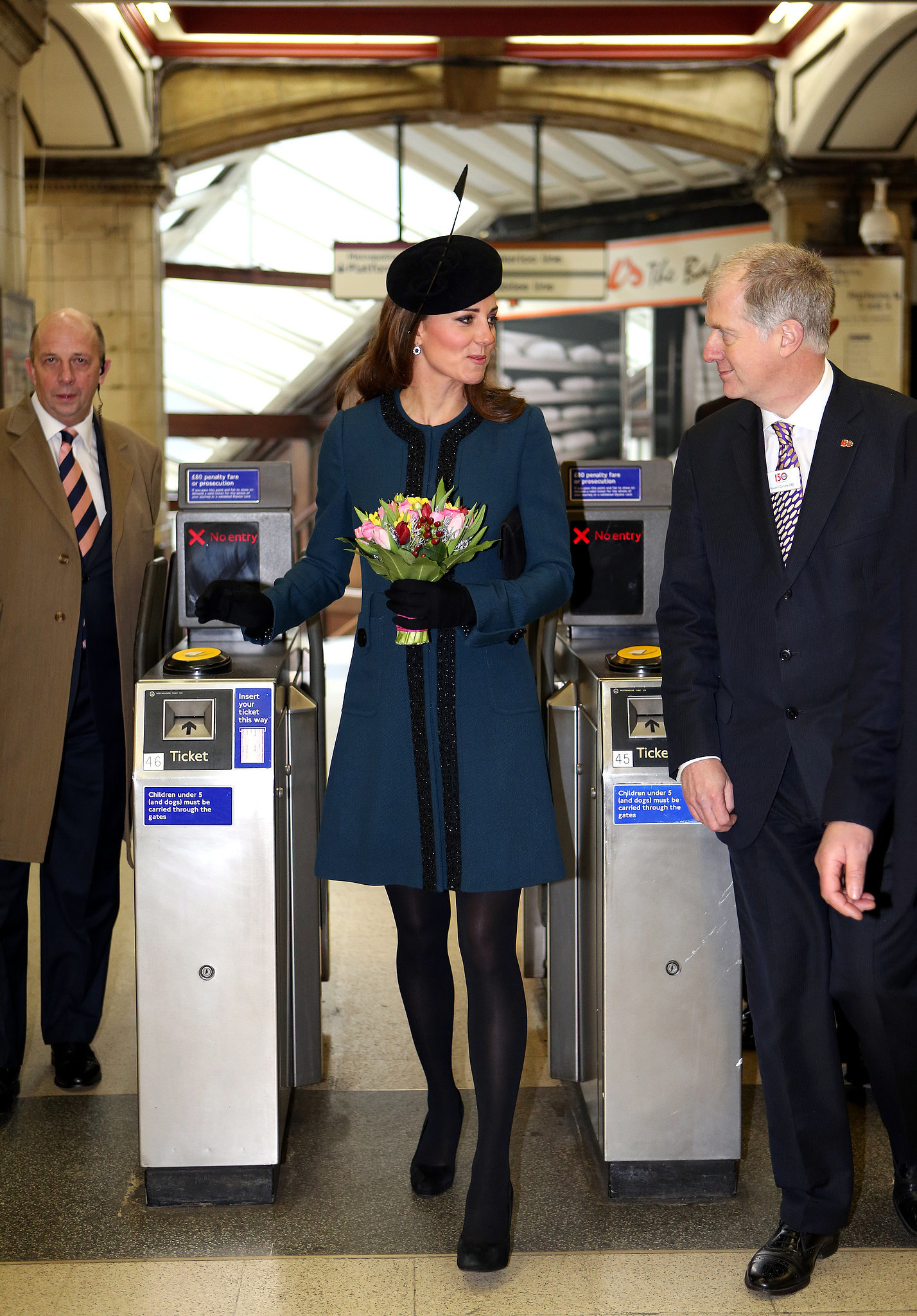 """And I thought marrying William would mean I would never have to ride the tube again."""