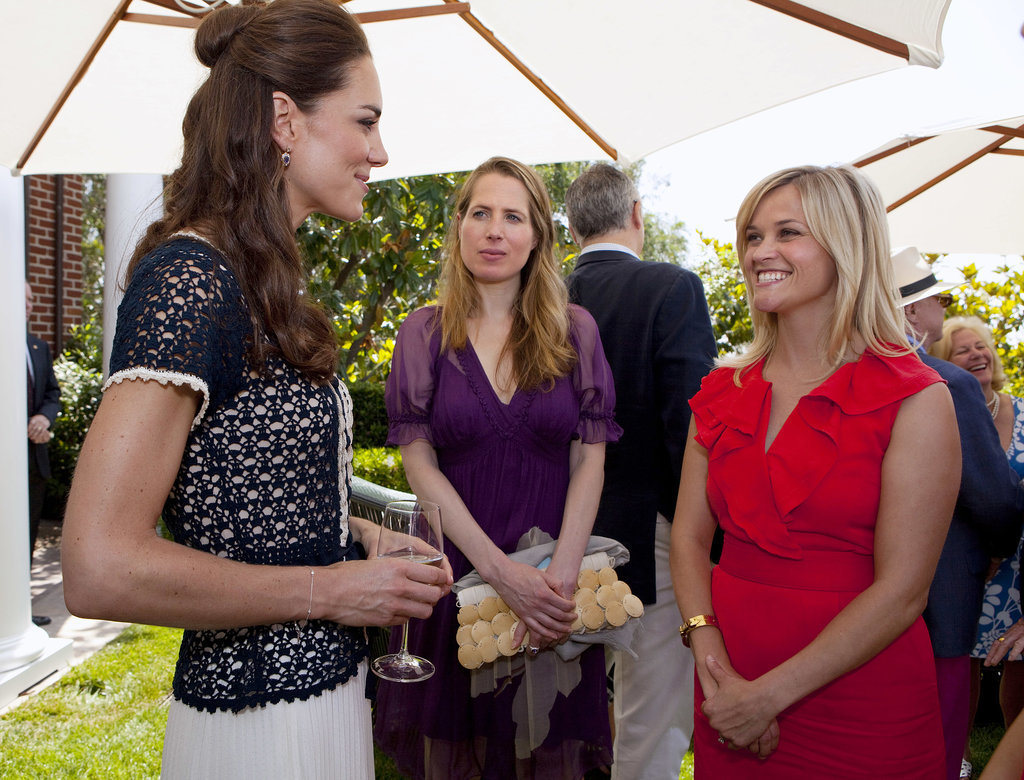 """OMG — Reese Witherspoon! Hold it together, Catherine."""