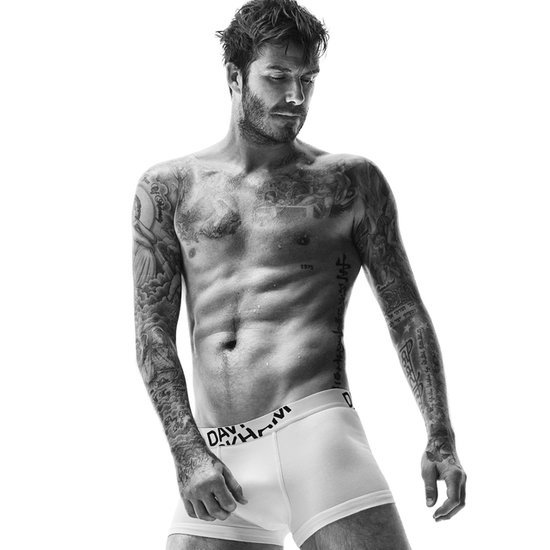 David Beckham Shirtless In Underwear For H&M Campaign
