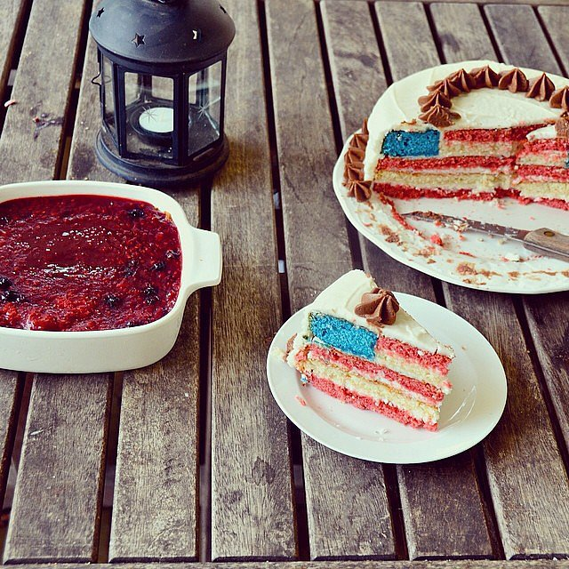 Bake a Fourth of July Cake
