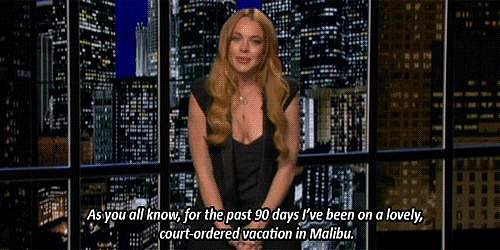Post-rehab, she brought on the laughs on <b>Chelsea Lately</b>.