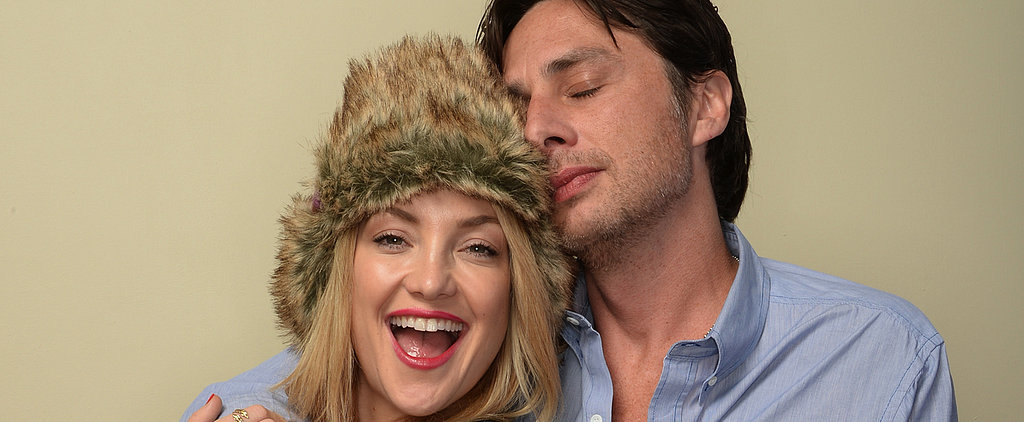 Kate Hudson and Zach Braff Share Their Secrets to Happiness