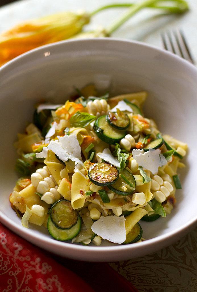 Maltagliati Pasta With Summer Vegetables
