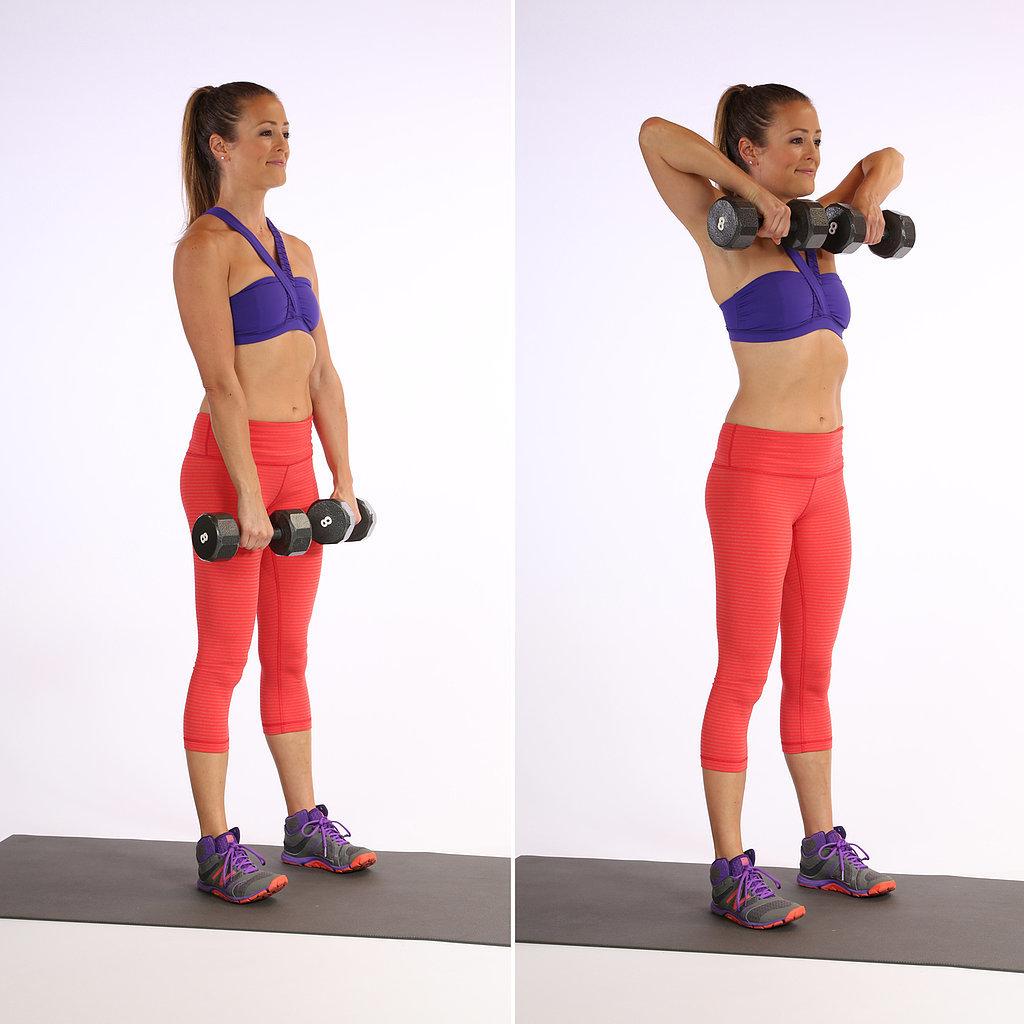 popsugar arm workout video