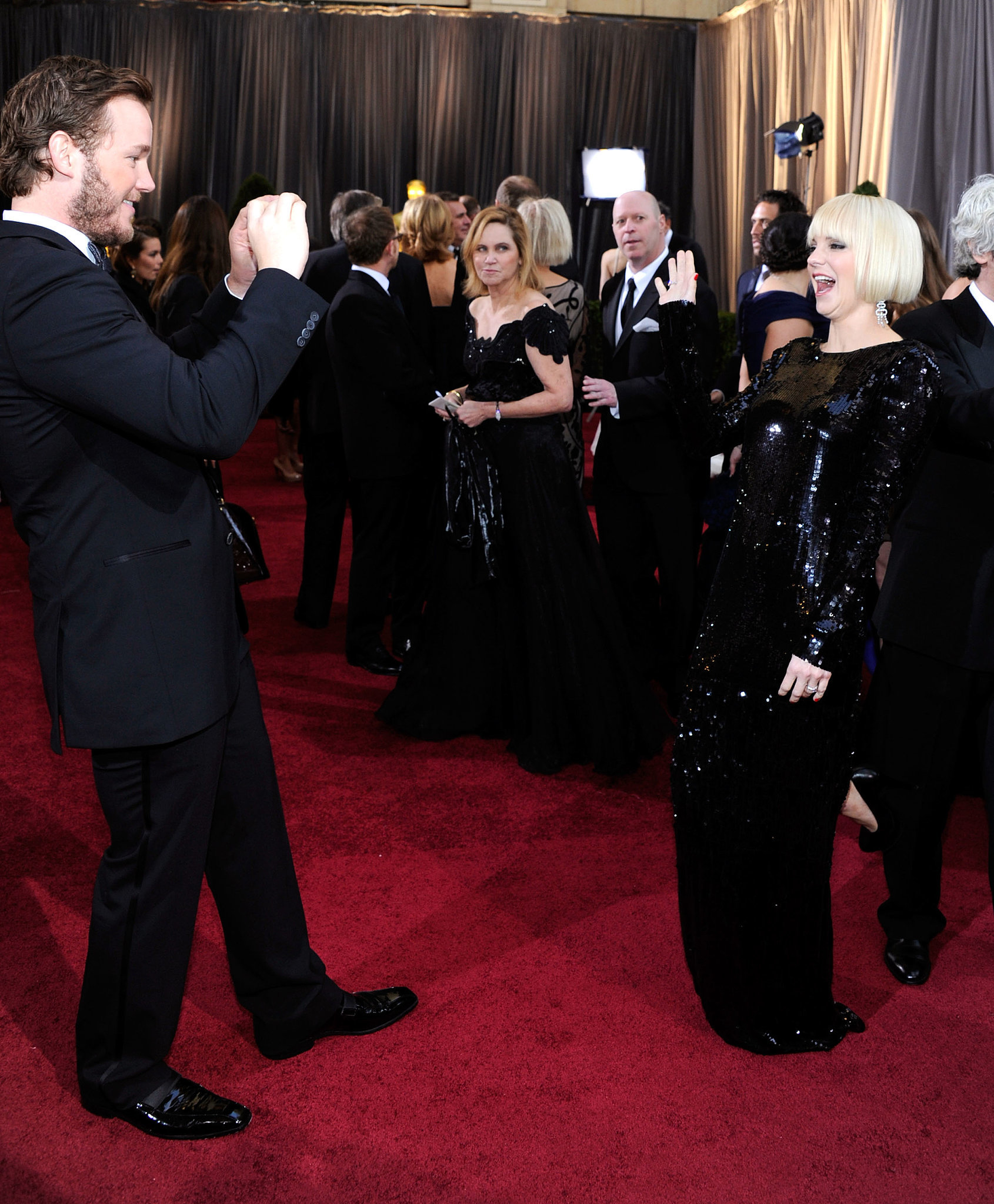 In 2012, Chris snapped pictures of Anna on the red carpet at the Oscars.