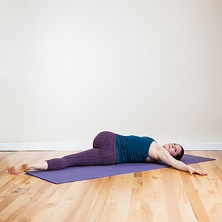 Do This Relaxing Yoga Sequence in Bed, Then Drift Off to Sleep