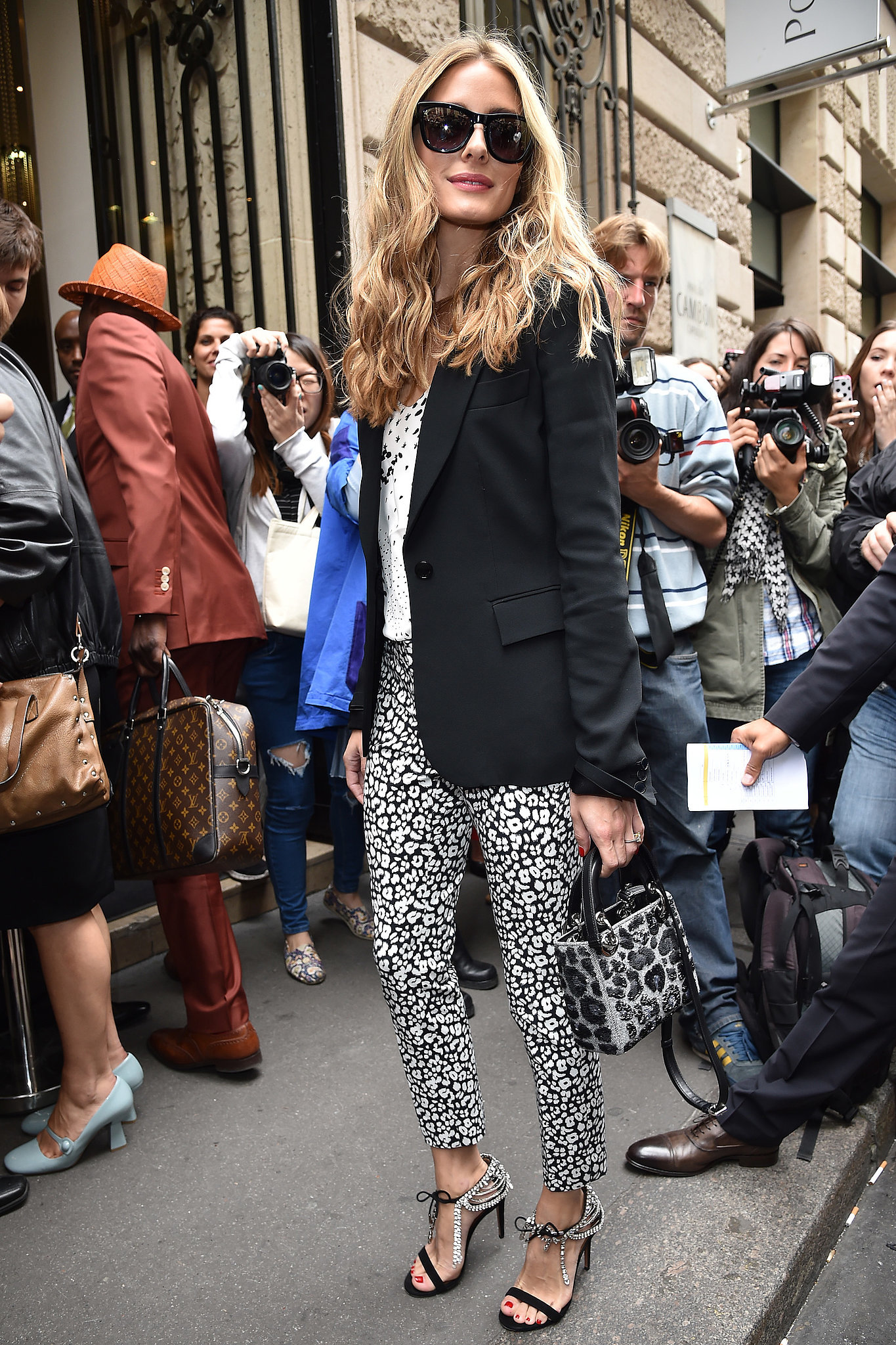 . . . And then wear Banana Republic pants to Haute Couture Fashion Week too.