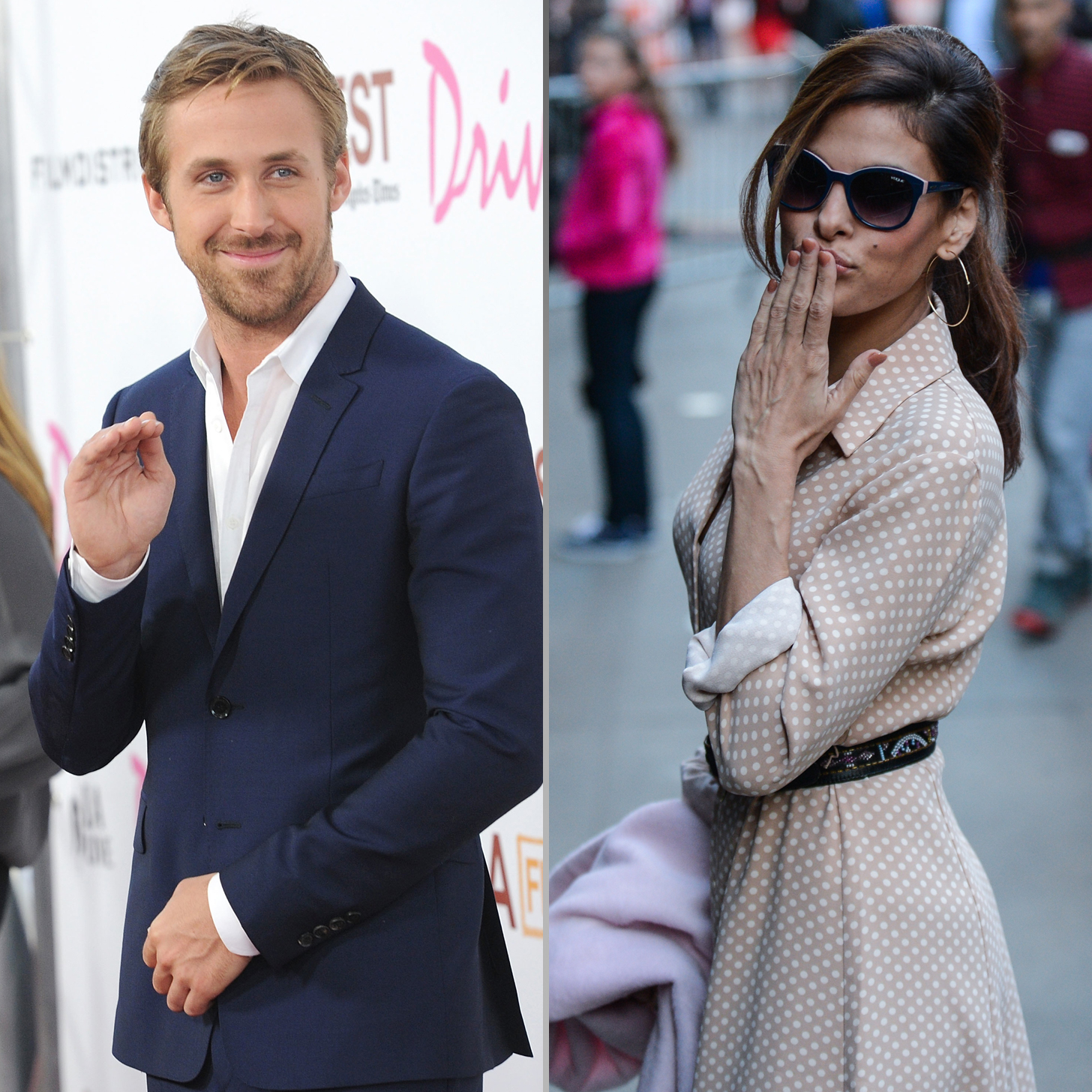 Ryan Gosling and Eva Mendes Think Split Rumors Are ''Ridiculous ...