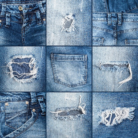 Zoo Animals Make Distressed Jeans