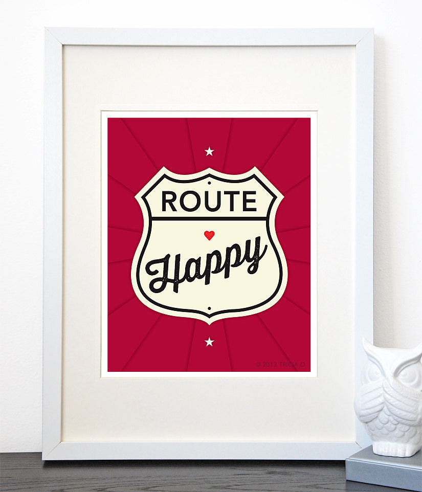 We'll take this road! Route Happy ($12-$34) sounds like the perfect path this Summer.