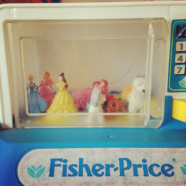 She Either Found a Fun House For Her Princesses . . .