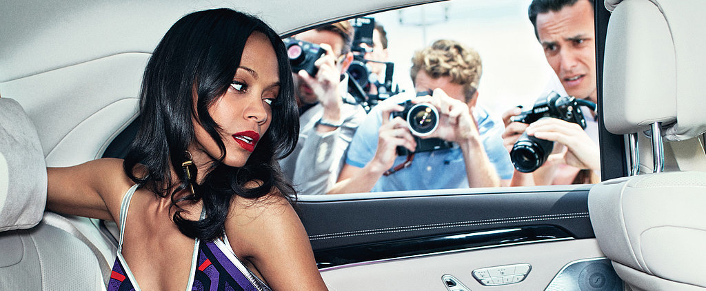 Zoe Saldana Is Not Interested in Being Friends With Her Exes