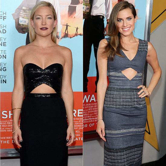 Kate Hudson and Allison Williams Cutout Dresses