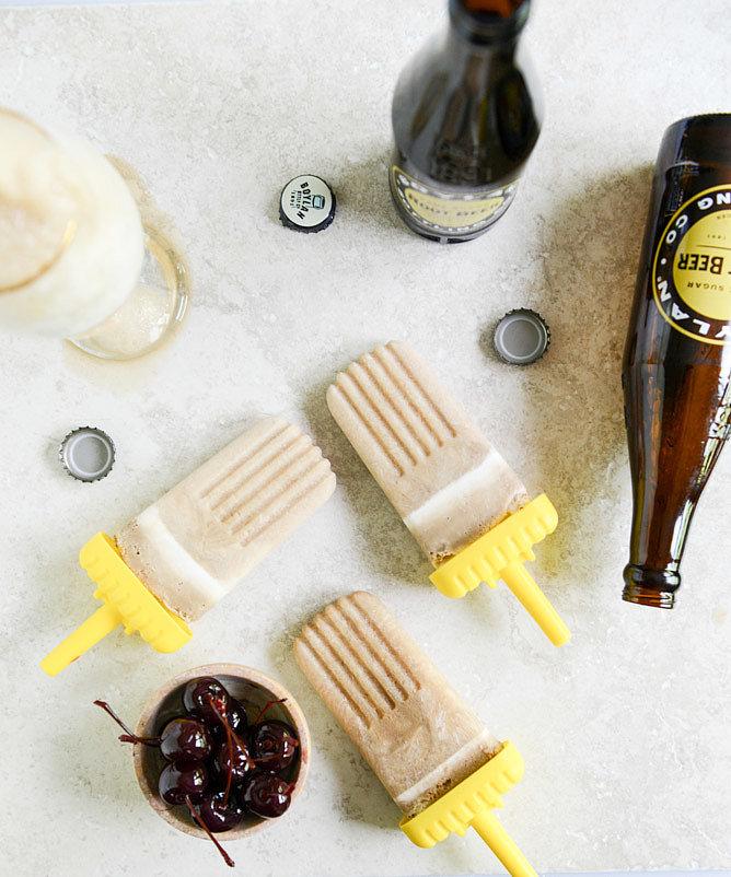 Root Beer Float Pops