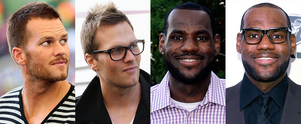 Do These Athletes Look Hot in Geeky Glasses?