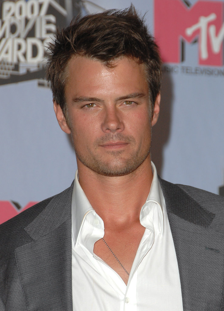 Josh looked serious — and seriously sexy — in June 2007 for the MTV Movie Awards.