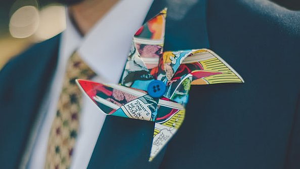 8 Boutonnières to Keep Close to Your Geek Heart