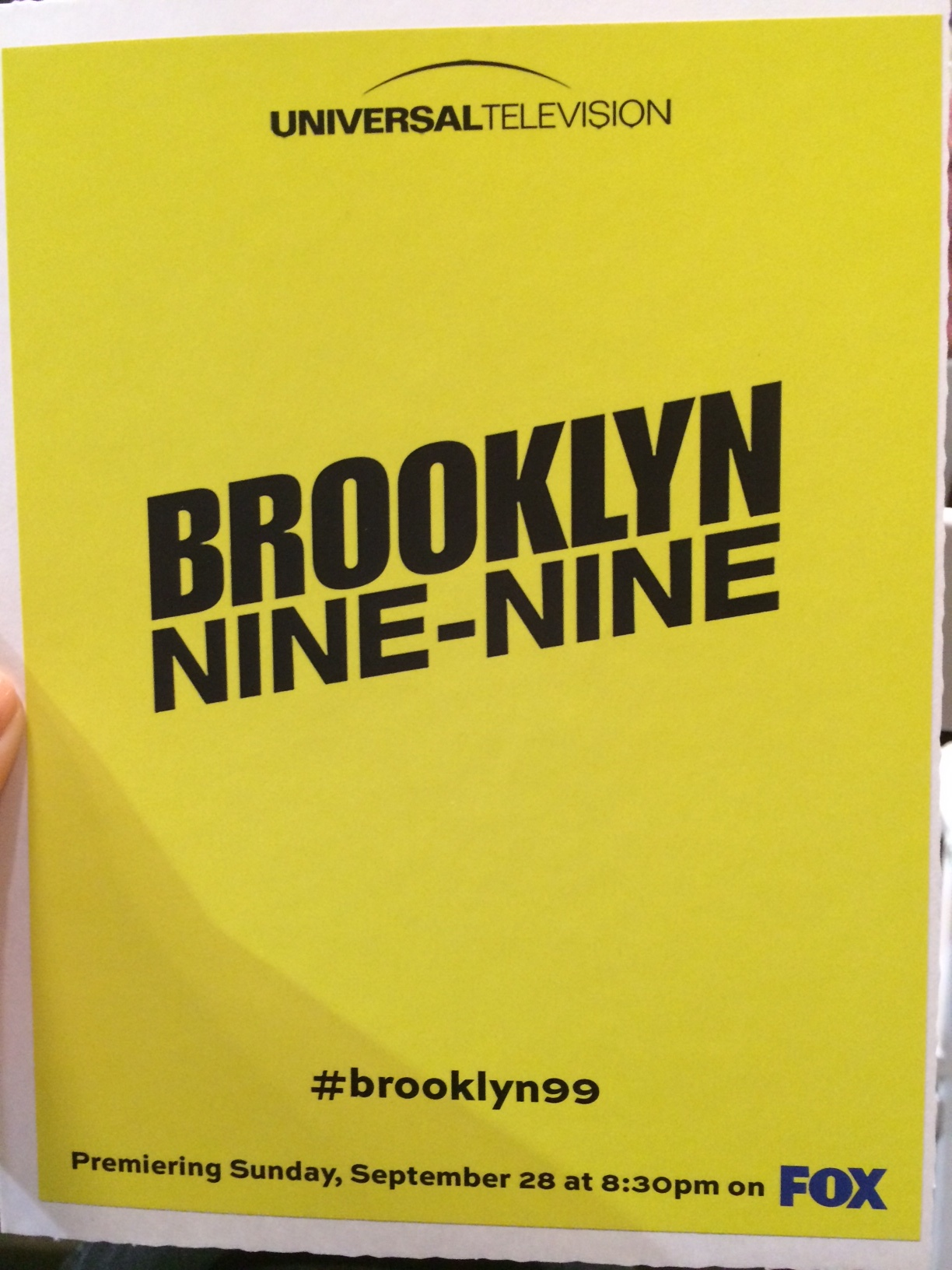 Welcome to Brooklyn Nine-Nine day at TCA!