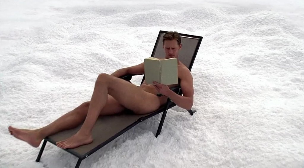Best Full Frontal in the Snow: Alexander Skarsgard, True Blood