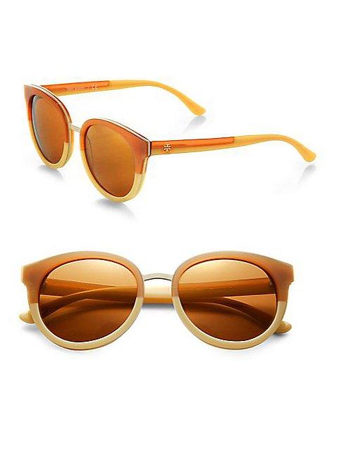 Tory Burch Oversize Round Sunglasses