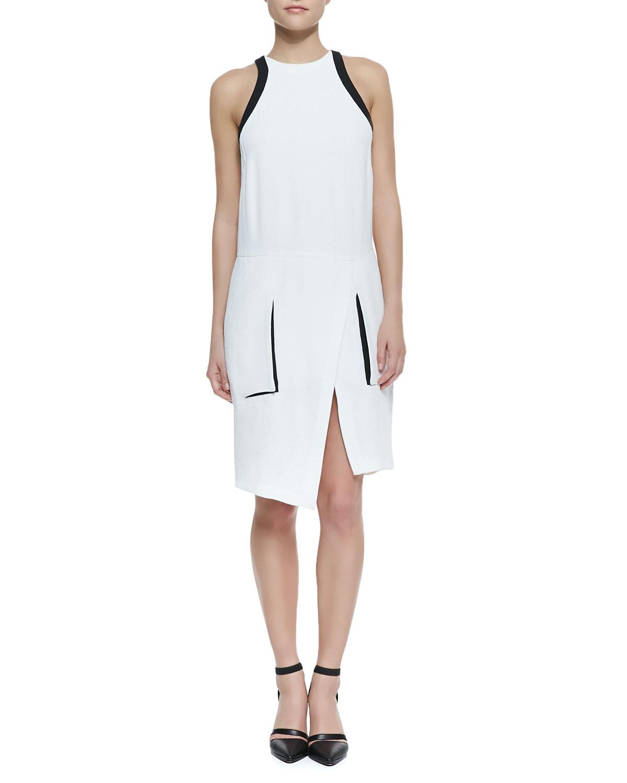 Helmut Lang Wrap Dress
