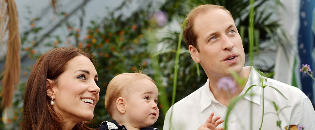 See Prince George's First Birthday Photo Shoot!