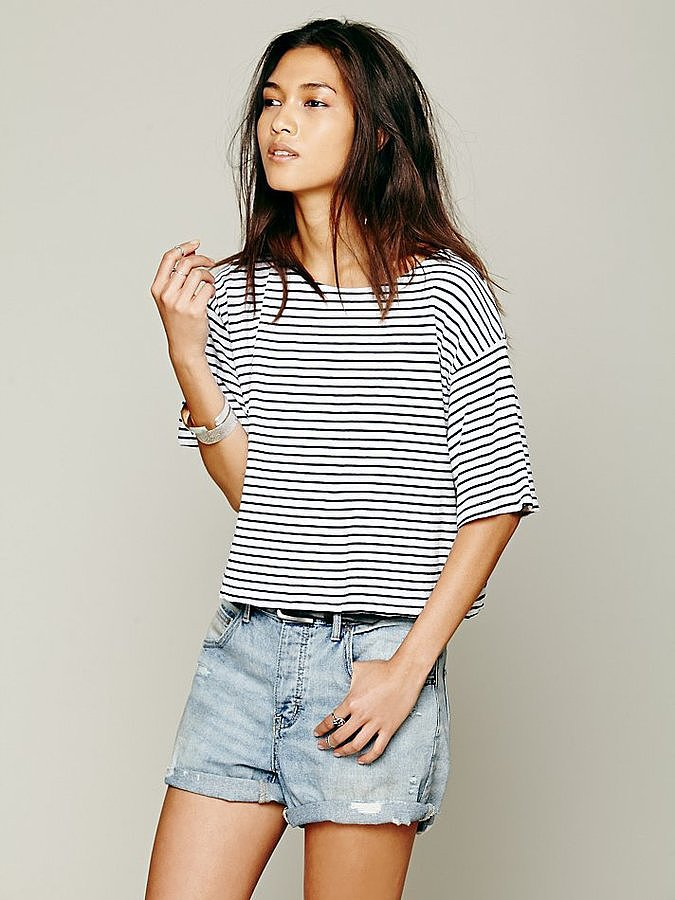 Free People Striped Shirt