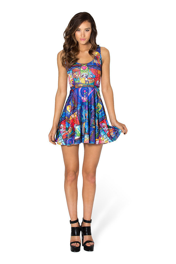 Tale as Old as Time Scoop Skater Dress ($90)