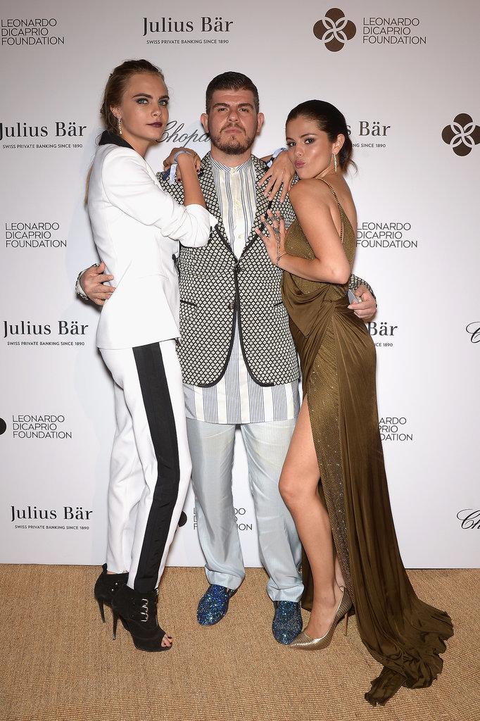 Cara Delevingne, Eli Mizrahi, and Selena Gomez