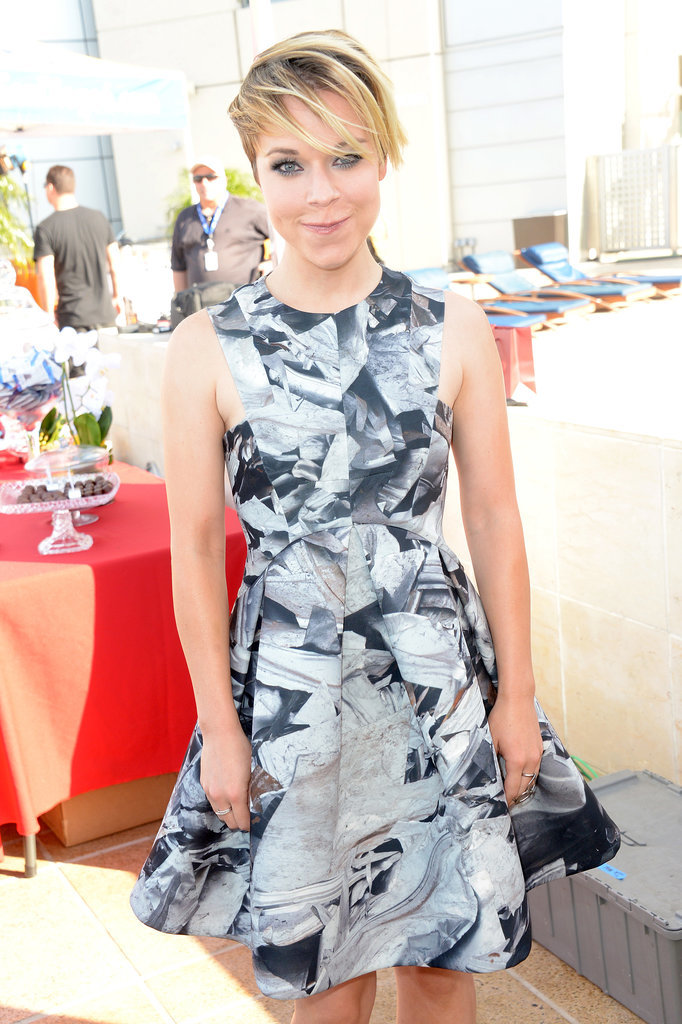 Veronica Mars's Tina Majorino enjoyed a bash on Wednesday.