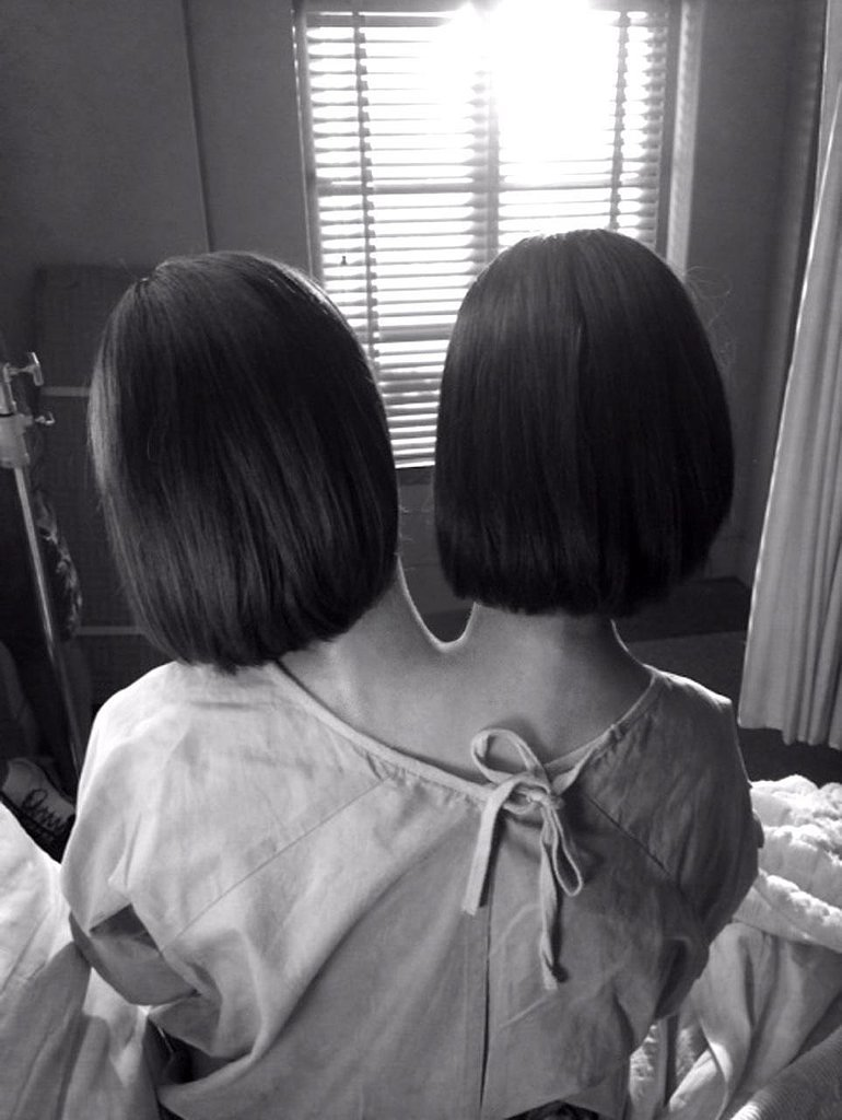 This picture that Ryan Murphy tweeted of Dot and Bette, Paulson's character(s).