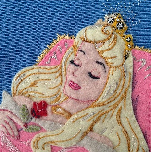 Olympia Le-Tan Sleeping Beauty Clutch