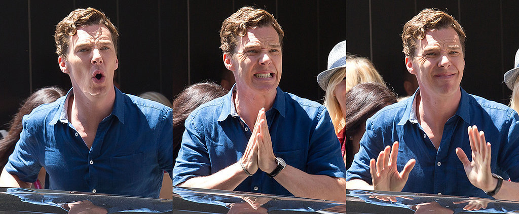 This Is How Benedict Cumberbatch Reacts When He Makes Women Scream