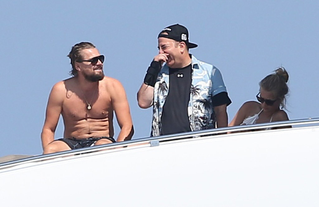Leo Has a Shirtless Water-Gun Fight, Because Why Not?