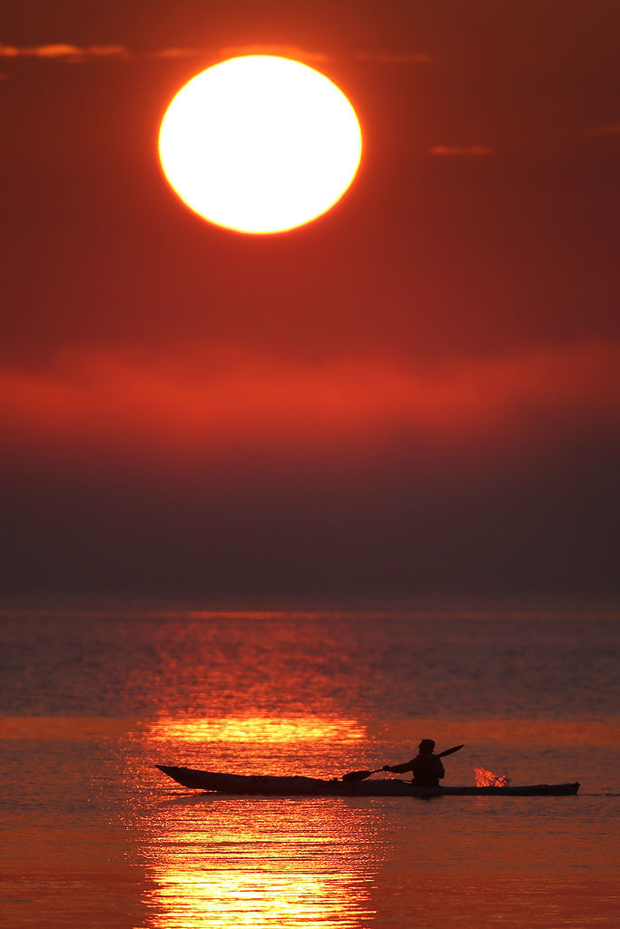Striking Sunset
