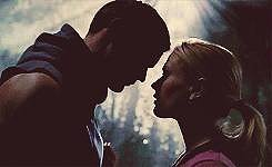Sookie cannot resist Eric at all in most of season four, and it's the best.