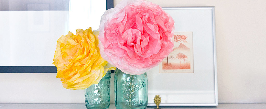DIY Peony-Style Coffee Filter Flowers