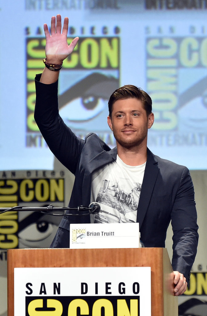 Jensen Ackles raised the bar at the Supernatural panel on Sunday.