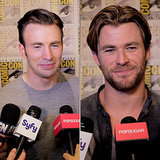 Avengers: Age of Ultron Interview at Comic-Con | Video
